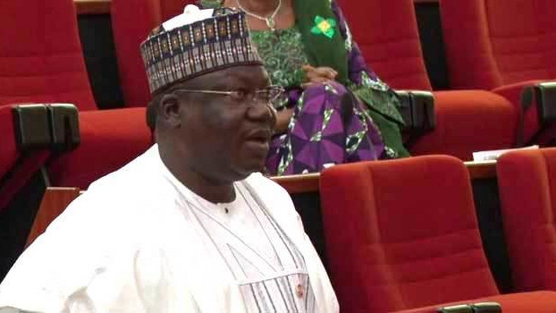 Sanate President Ahmad Lawan (Channels)