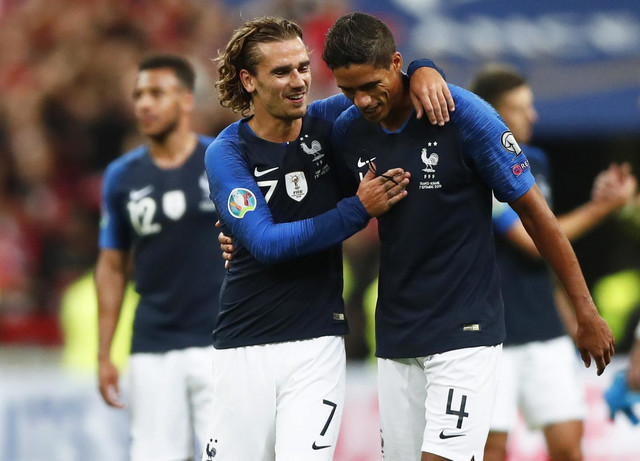 Fudbalska reprezentacija Francuske, Albanije