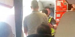 Dantejskie sceny w samolocie. Stewardesa płakała, pasażerowie drżeli ze strachu
