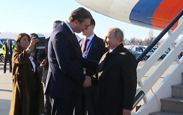 Aleksandar Vučić i Vladimir Putin