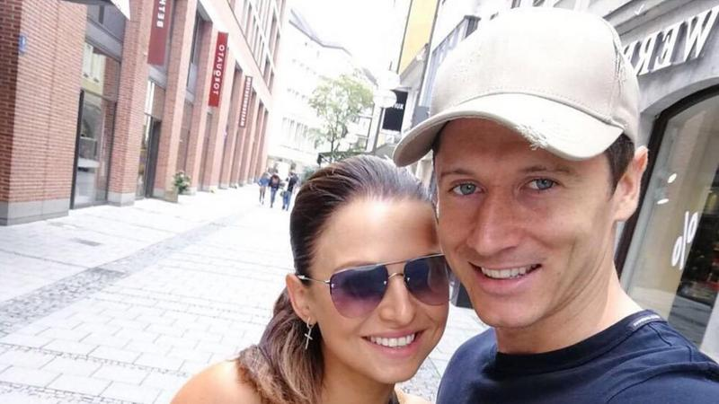 Anna Lewandowska i Robert Lewandowski