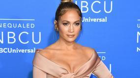 Jennifer Lopez na ogłoszeniu ramówki stacji NBC