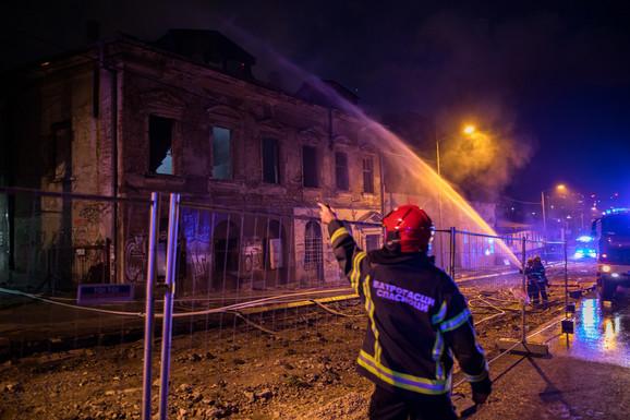 Kuća je uništena u požaru 28. jula
