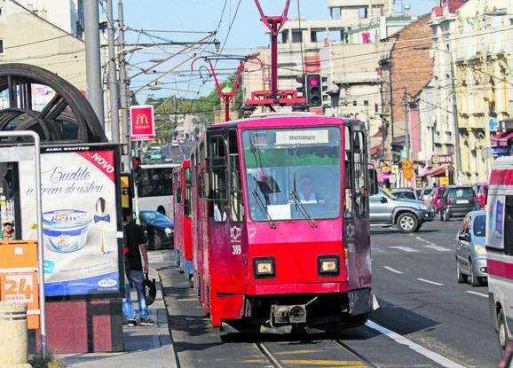 Džeparenje i po tramvajima