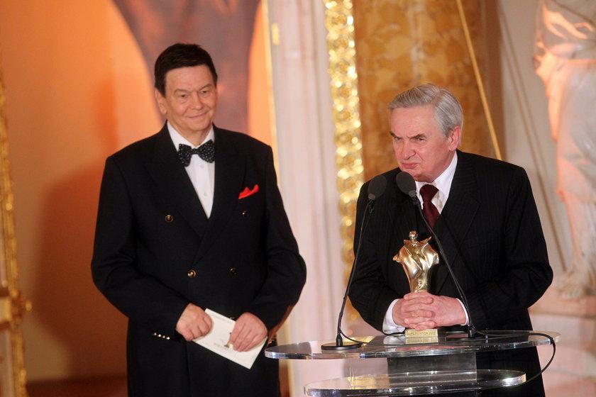 Tadeusz Sznuk z Bogusławem Kaczyńskim