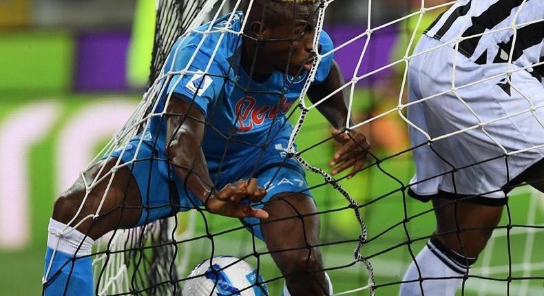 Victor Osimhen was on target for Napoli on Monday night (Instagram/Napoli)