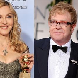 Partner Eltona John przeciwko Madonnie!