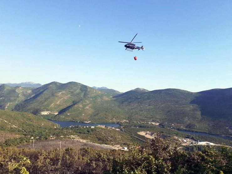 helikopter-pozar Trebinje