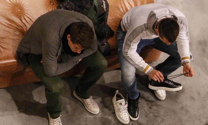 Sebastian Boenisch i Arkadiusz Milik kupują drogie buty