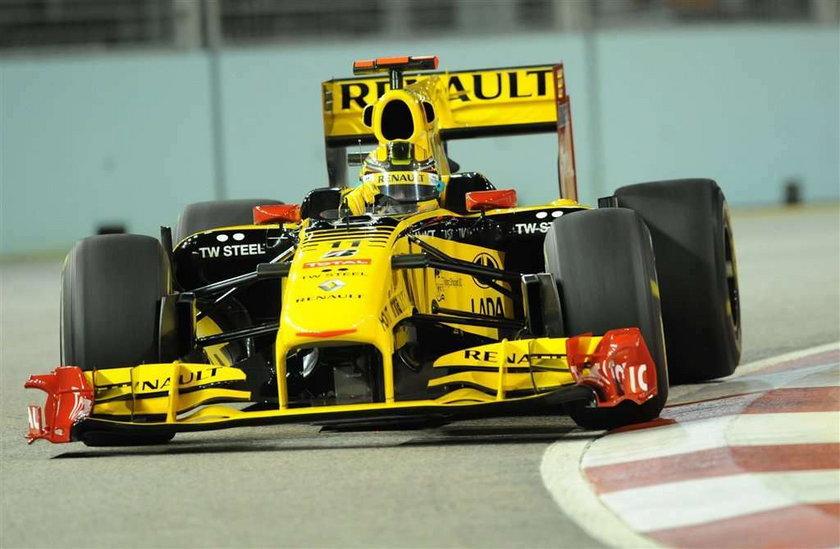 Kubica - eliminacje GP Singapuru