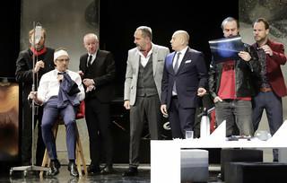 'Testosteron' Andrzeja Saramonowicza w Teatrze im. A. Mickiewicza w Częstochowie