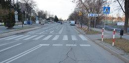 Wypadek w Krośnie. 9-latka potrącona na przejściu