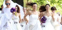 Uciekające panny młode. Gwiazdy w ślubnych kieckach