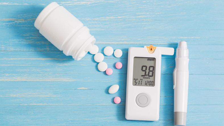 Glukometr i tabletki