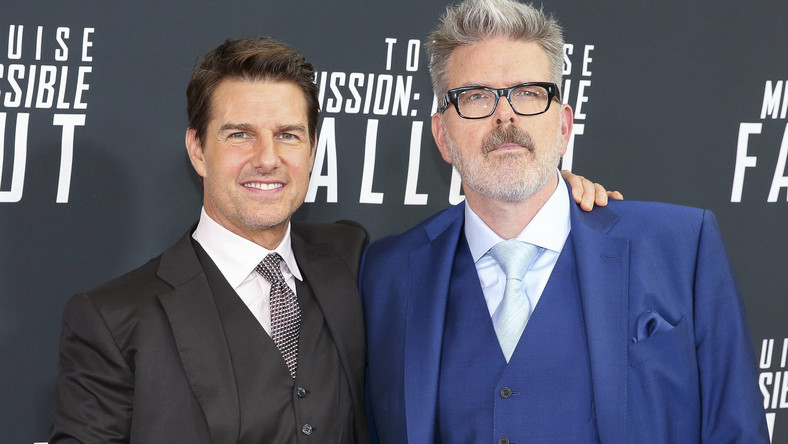 Tom Cruise (L) and Christopher McQuarrie attend the 'Mission: Impossible - Fallout' DC premiere at the Smithsonian's National Air and Space Museum on July 22, 2018 in Washington, DC.. Photo by Oliver Contreras/UPI Photo via Newscom Dostawca: PAP/Newscom