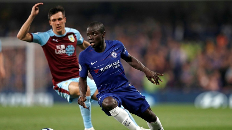 Chelsea's N'Golo Kante scored in their draw with Burnley