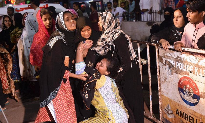 Co najmniej 52 ofiary zamachu na sanktuarium