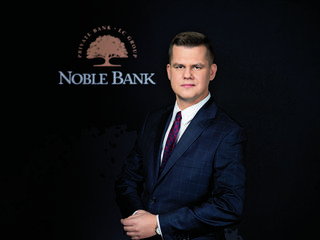 Artur Chomicz, Wealth Manager Noble Bank w Gdańsku