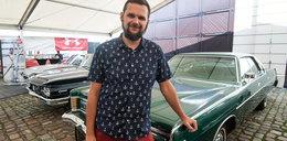 Mateusz ma niezwykłe hobby. Kolekcjonuje samochody z Ameryki