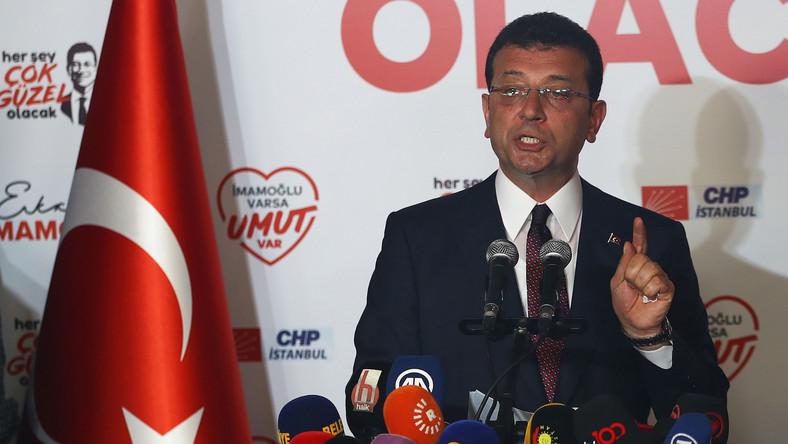 Ekrem Imamoglu, kandydat opozycji na burmistrza Stambułu