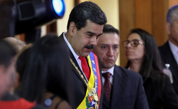 """Rosja, jego zdaniem, nie zdecyduje się na wysłanie wojsk do Wenezueli, ponieważ """"weszłaby w drogę"""" Chinom i USA, czego się obawia."""