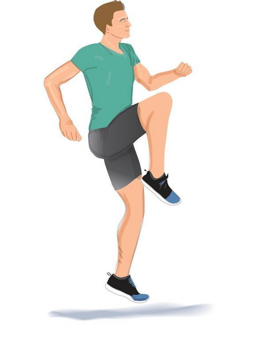 Rozruszanie bioder, kolan, stawu skokowego