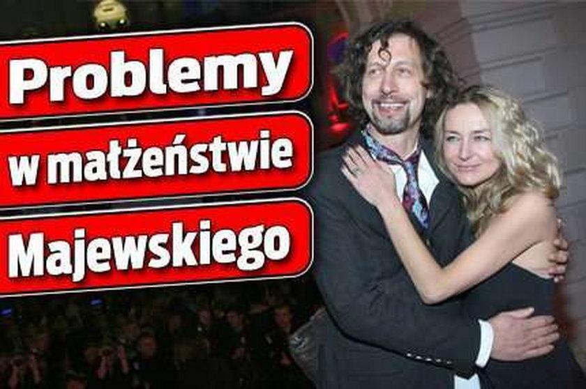 Problemy w małżeństwie Majewskiego
