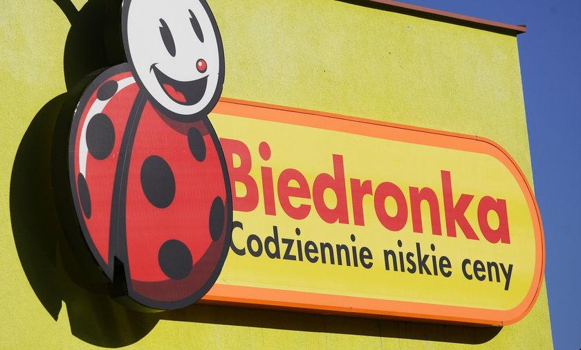 Sklep Biedronka.