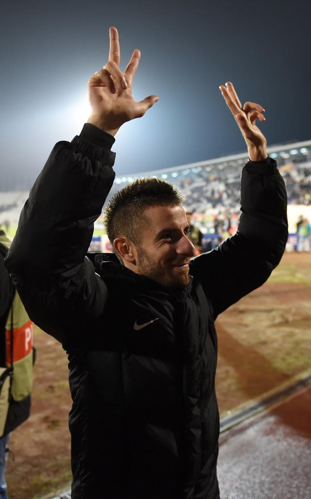Zoran Tošić posle meča sa Skenderbegom