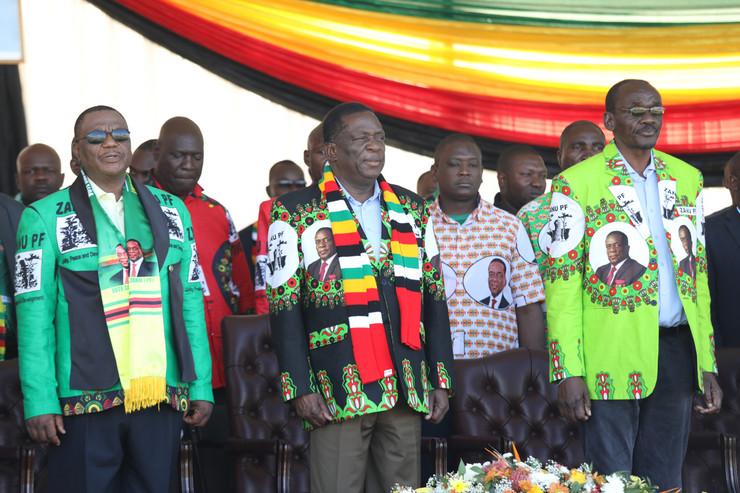Emerson Mnangagva, Zimbabve, EPA - AARON UFUMELI
