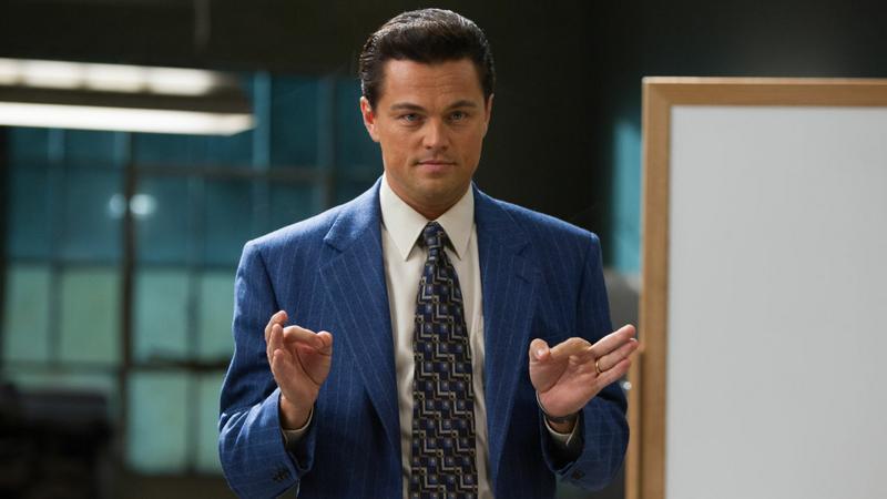"""Leonardo DiCaprio w filmie """"Wilk z Wall Street"""" (reż. Martin Scorsese)"""