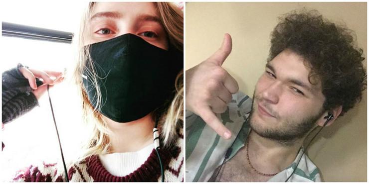Ljubav u doba korone: Ina Savinceva i Danil Parfenovič