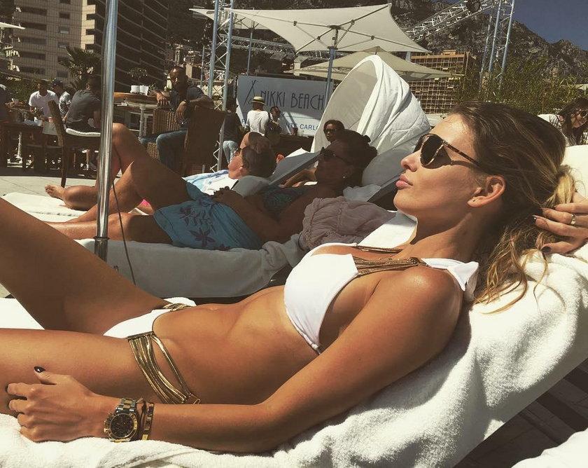Dominika Grosicka pokazała nogi! Imponujące zdjęcie żony Kamila