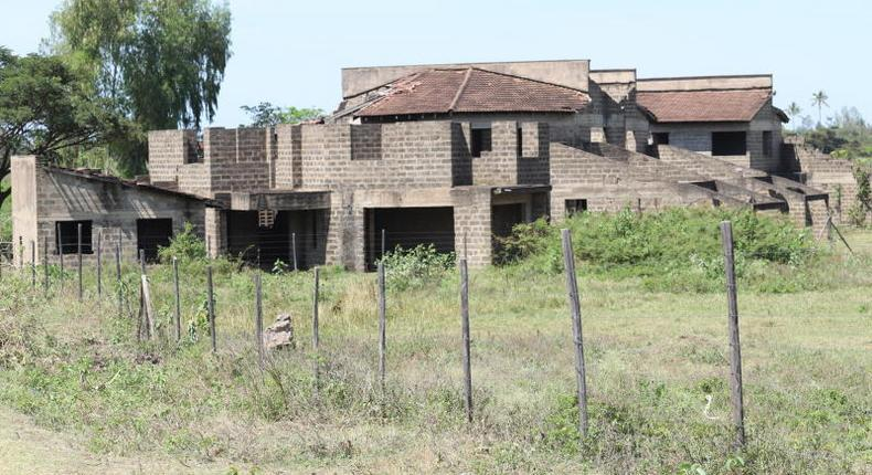 File image of an abandoned house in Nairobi. Michael Mungai found tied up in abandoned building in Athi River after alleged arrest at Burma Market