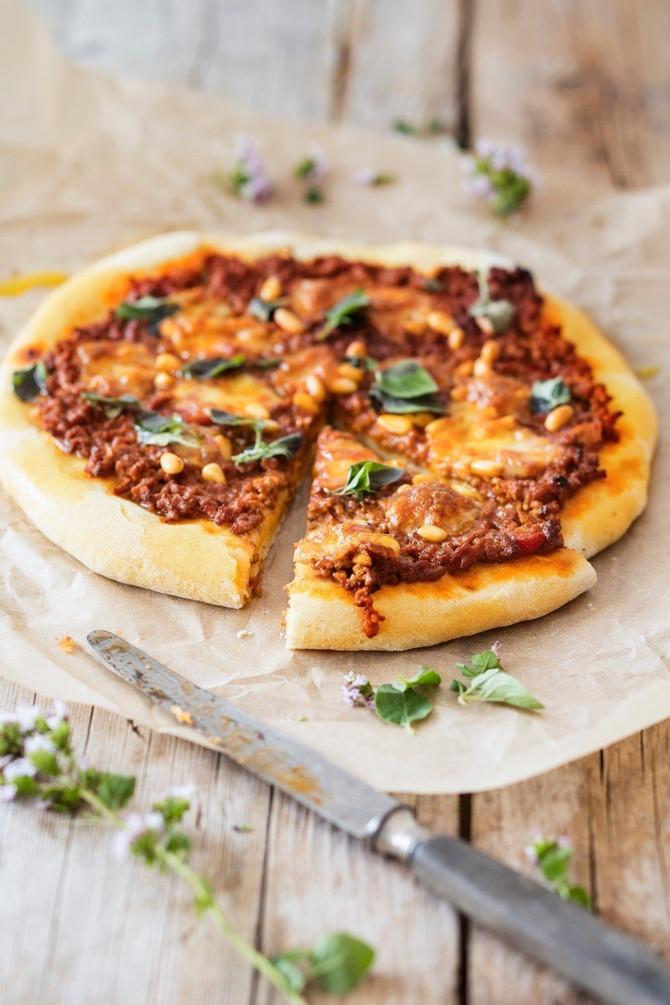 Preukusna gurmanska pica