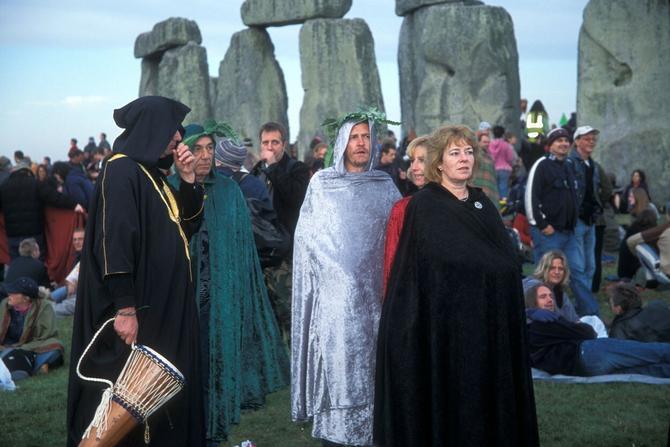 I moderni druidi slave