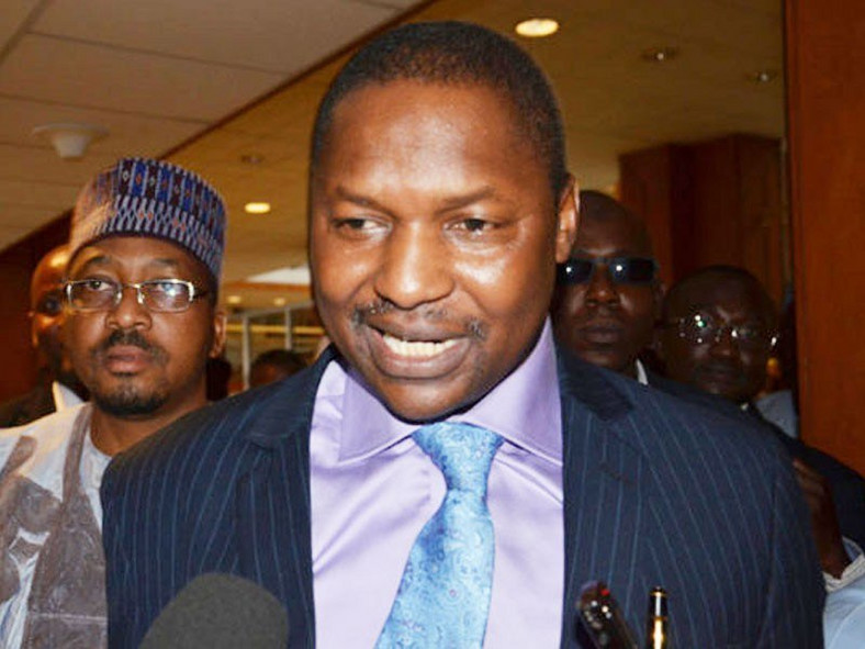Minister of Justice and Attorney General of the Federation, Abubakar Malami (ChannelsTV)