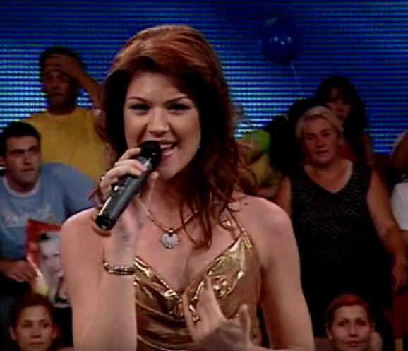 Jelena Marinkov tokom takmičenja u