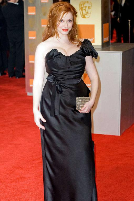 Christina Hendricks Bafta 2012