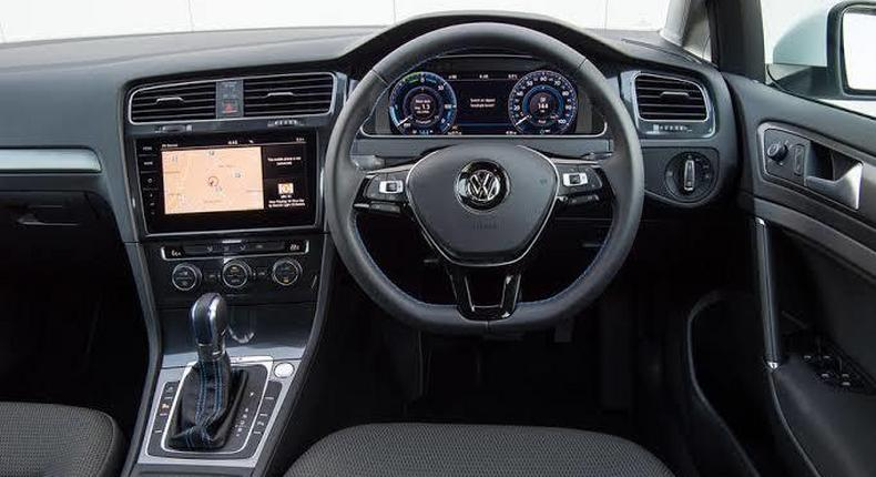Volkswagen e-Golf. (autocar)