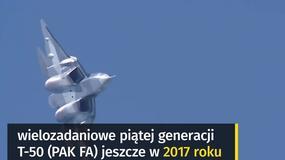 PAK FA, czyli Suchoj T-50 - nadciąga piąta generacja rosyjskich myśliwców