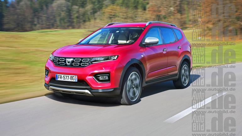 Nowa Dacia Lodgy - wizualizacja