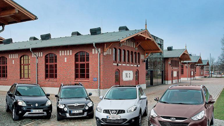Alternatywy cztery: Renault Koleos kontra Skoda Yeti, Nissan Qasqai i Hyundai ix35