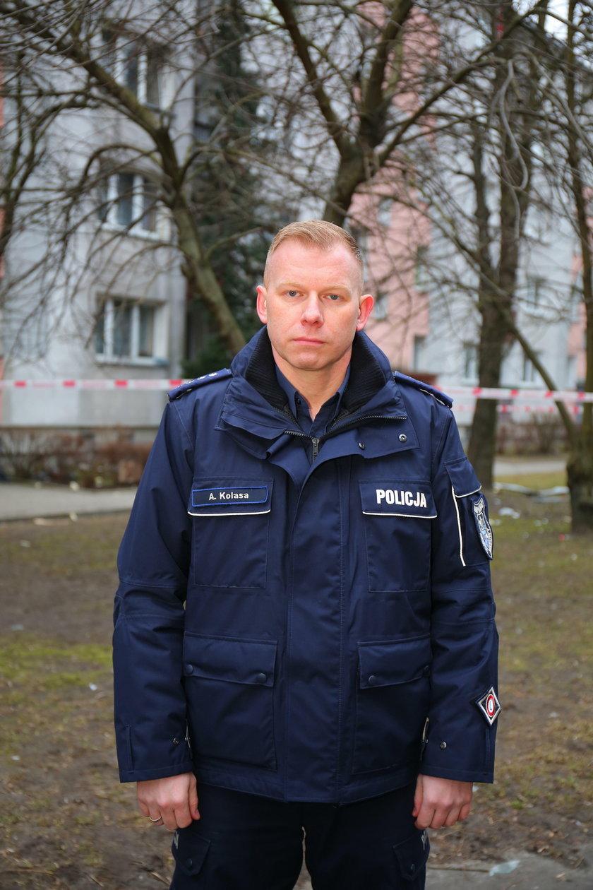 Adam Kolasa, KWP w Łodzi