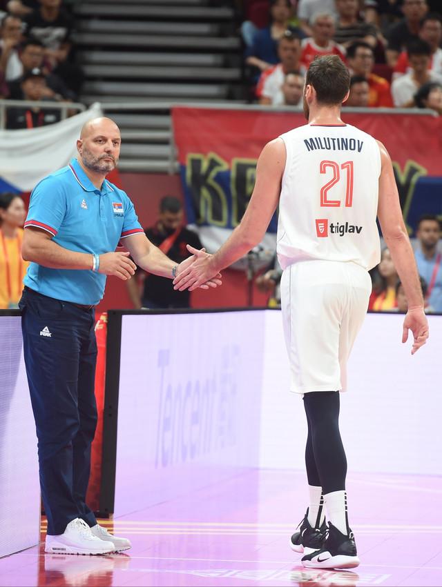 Aleksandar Đorđević i Nikola Milutinov