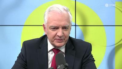 Jarosław Gowin: Kaczyński wywrócił ten stolik, licząc na to, że Komisja Europejska nie będzie się już chciała wycofać z tych ustaleń