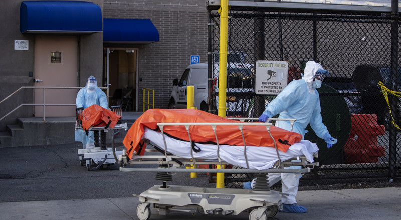 Despite Staggering Death Toll, N.Y. Outbreak Could Be Slowing