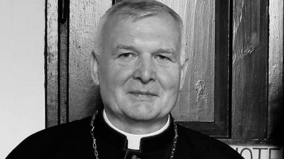 Ksiądz Jan Zalewski.