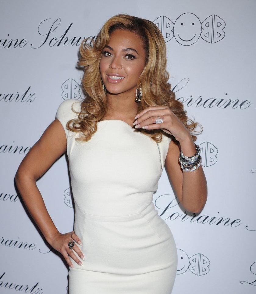Pierścionek zaręczynowy Beyonce