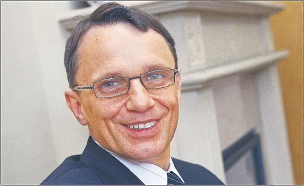 Jarosław Świeczkowski, prezes Krajowej Rady Komorniczej, komornik sądowy przy Sądzie Rejonowym w Wejherowie Fot. Wojciech Górski